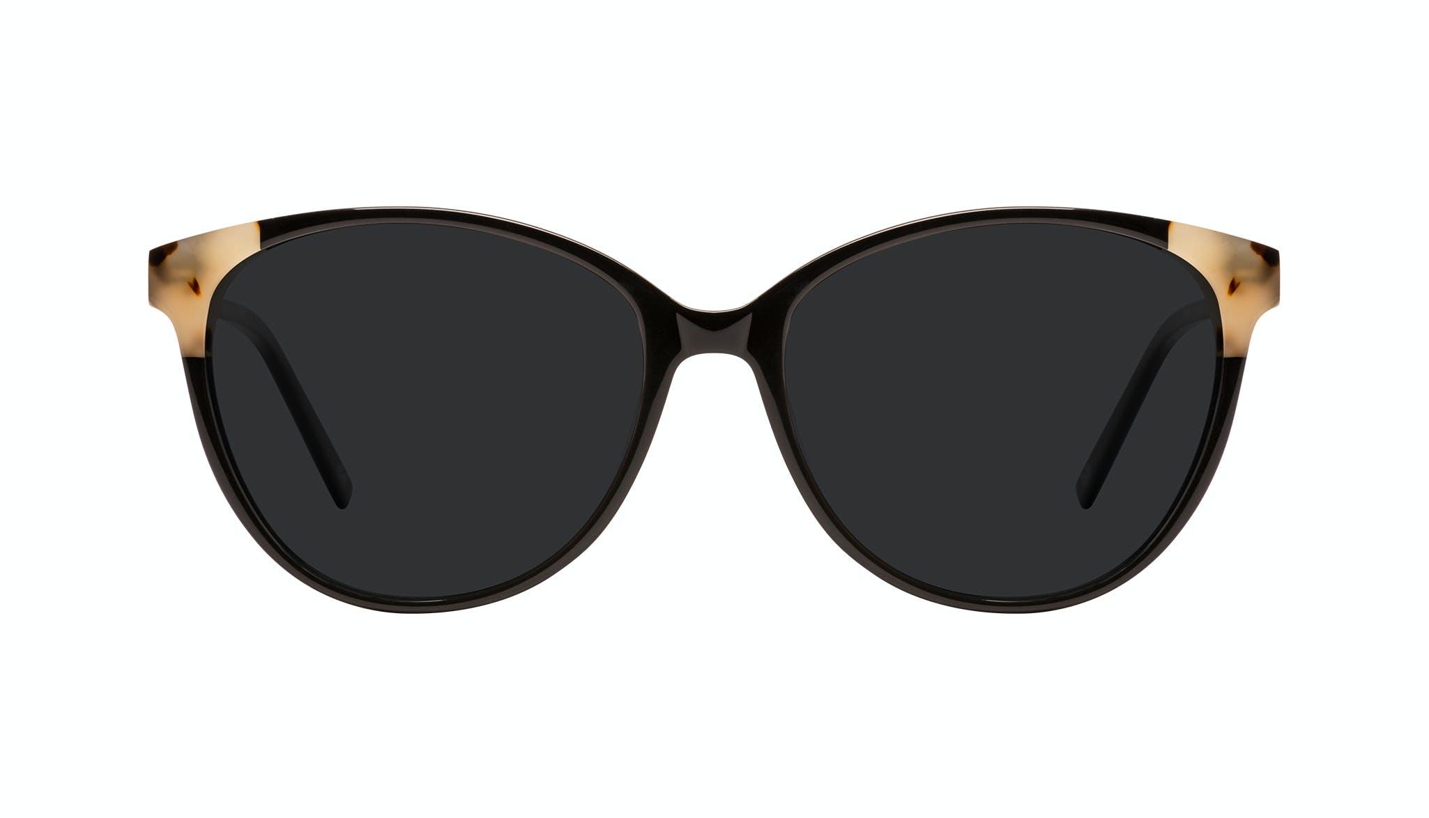 Affordable Fashion Glasses Cat Eye Sunglasses Women Imagine II Plus Ebony Granite