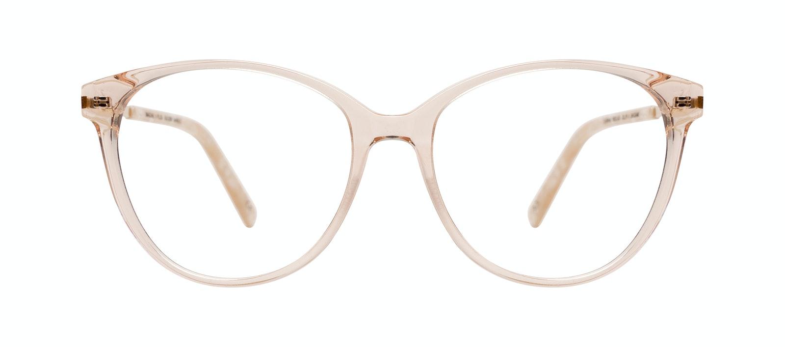 Affordable Fashion Glasses Round Eyeglasses Women Imagine II Plus Golden Marble Front