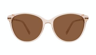 Affordable Fashion Glasses Cat Eye Sunglasses Women Imagine II Plus Golden Marble Front