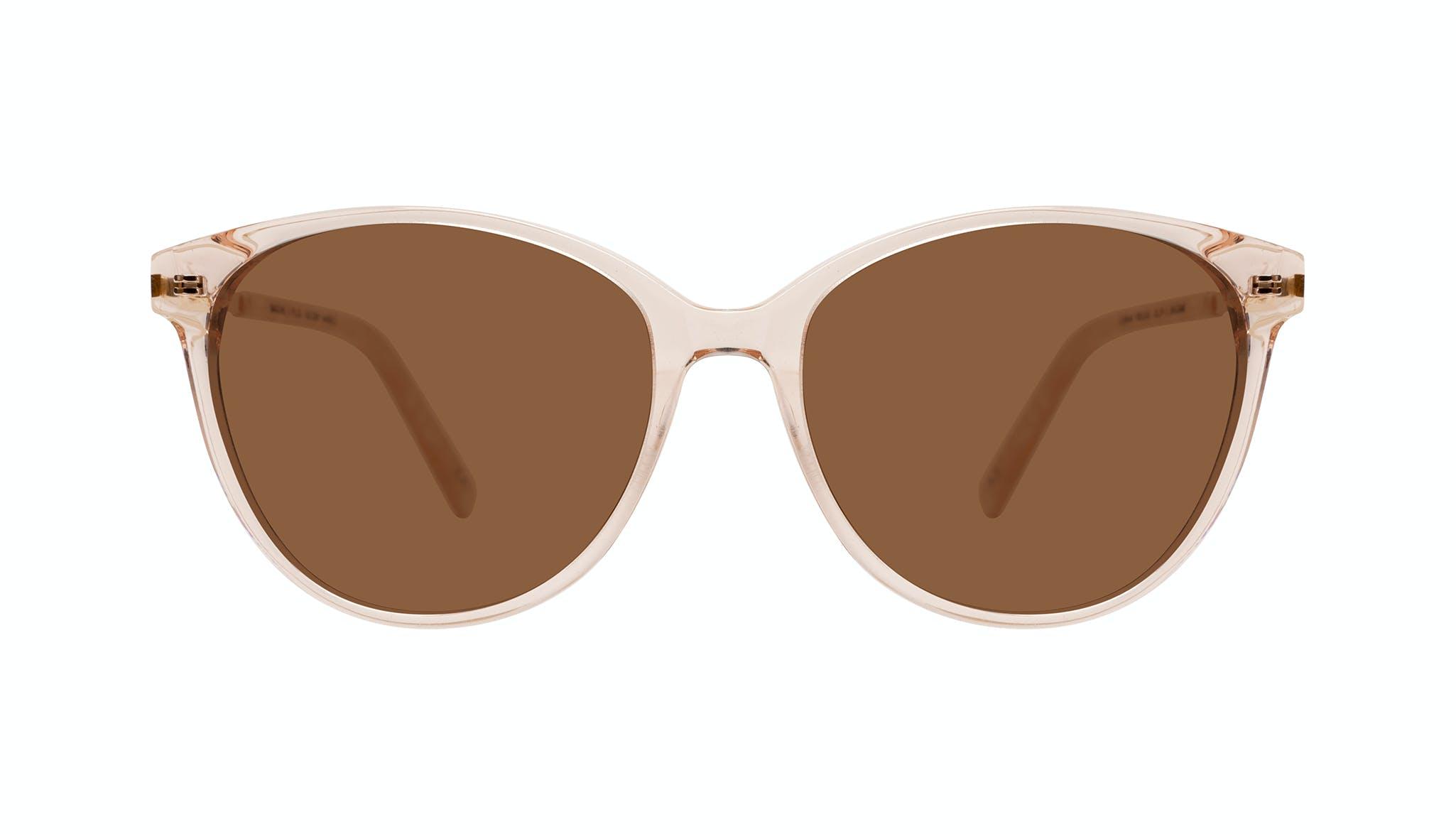 Affordable Fashion Glasses Cat Eye Sunglasses Women Imagine II Plus Golden Marble