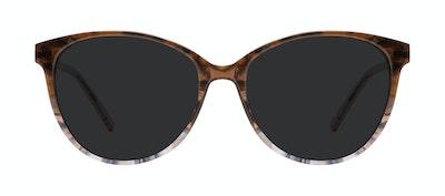 Affordable Fashion Glasses Cat Eye Sunglasses Women Imagine II Plus Moondust Front