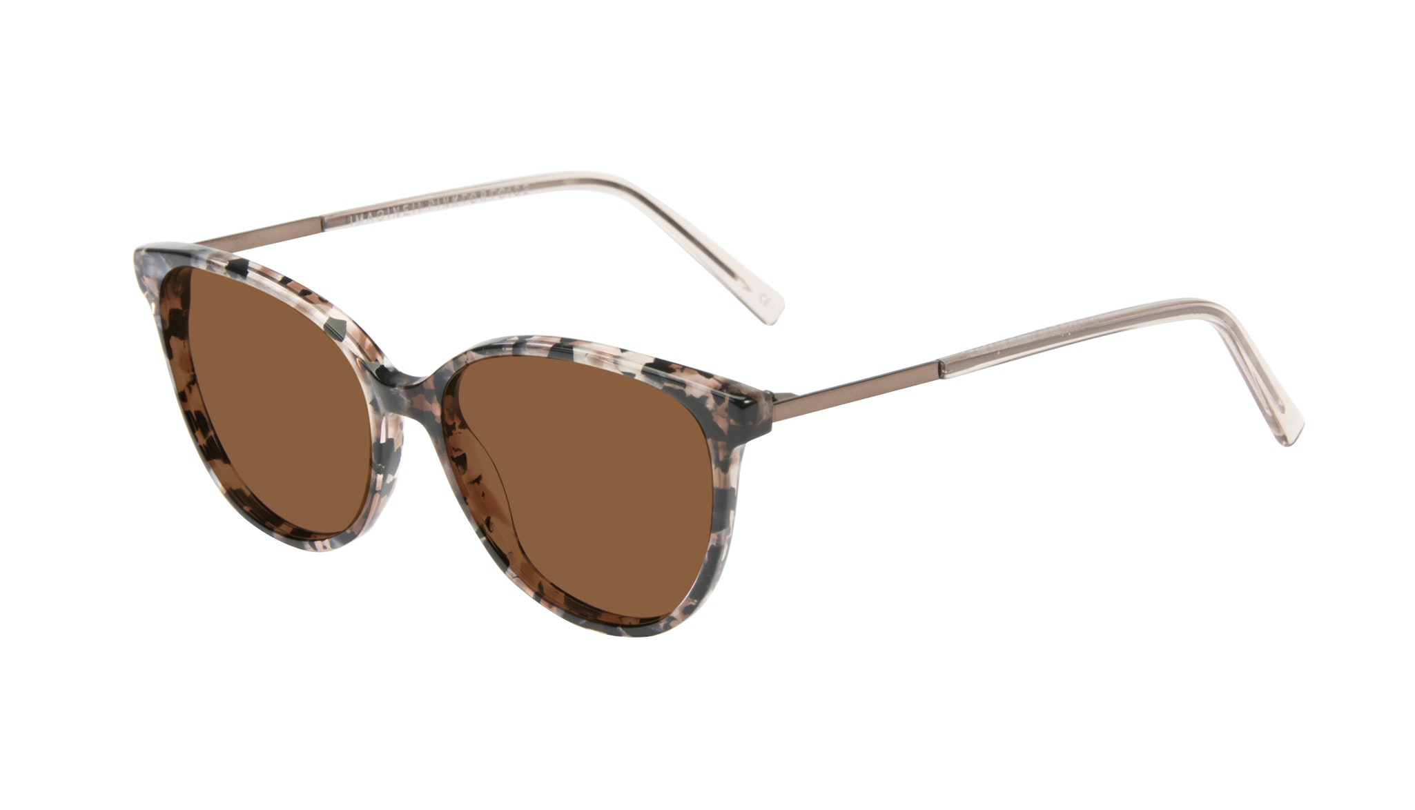 Affordable Fashion Glasses Cat Eye Sunglasses Women Imagine II Pink Tortoise Tilt