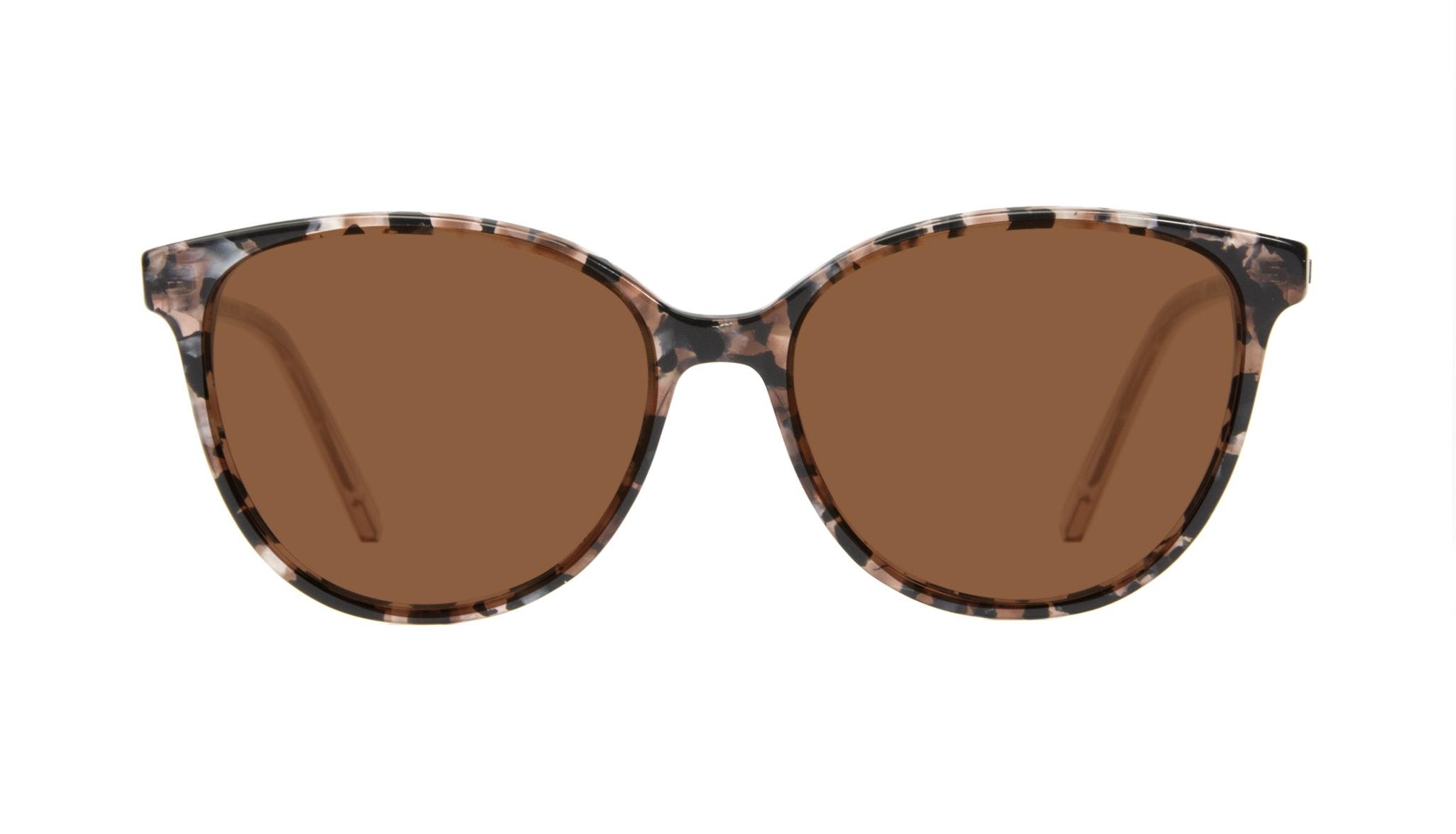 Affordable Fashion Glasses Cat Eye Sunglasses Women Imagine II Pink Tortoise Front