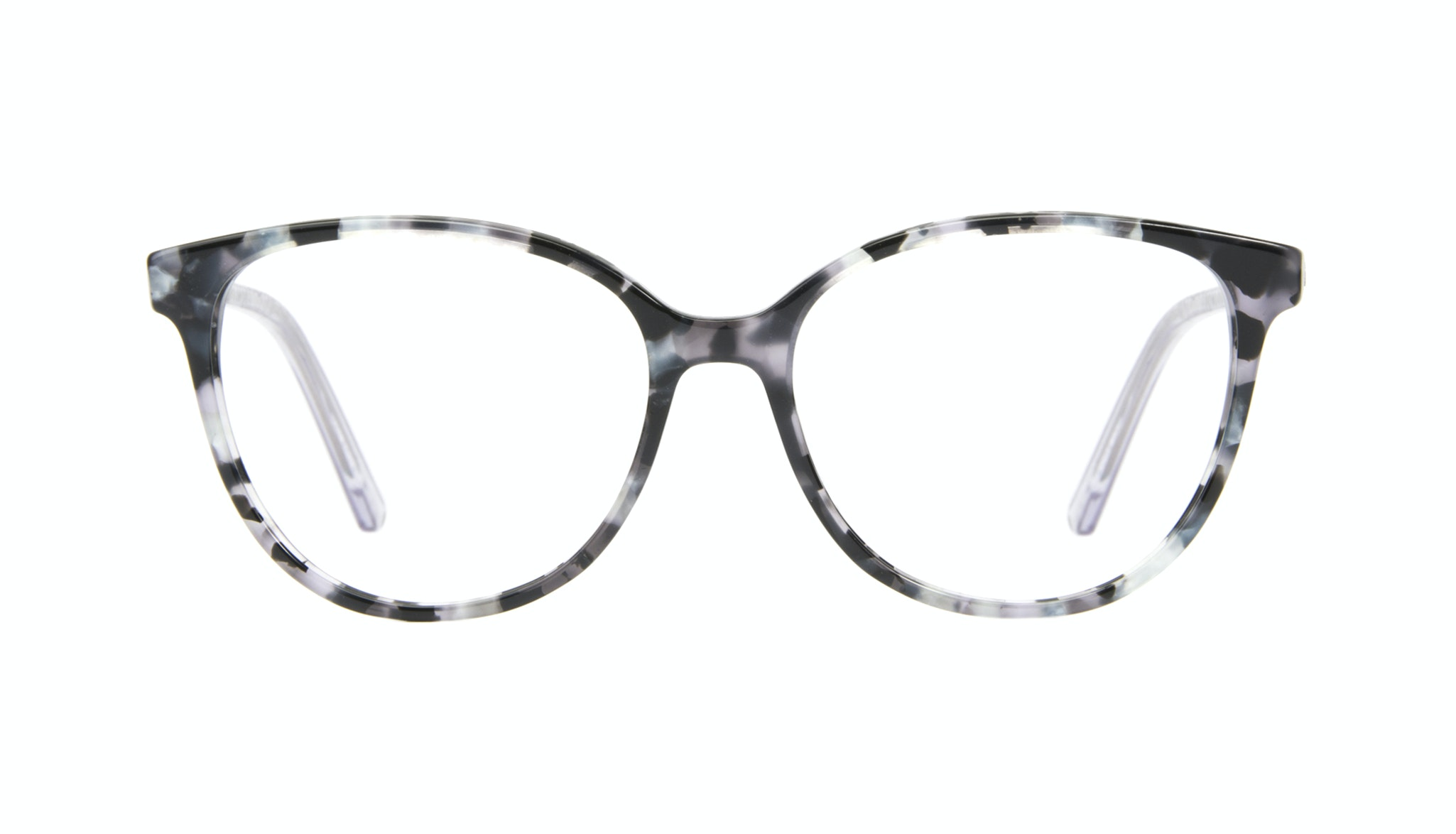 Affordable Fashion Glasses Cat Eye Eyeglasses Women Imagine II silver flake Front
