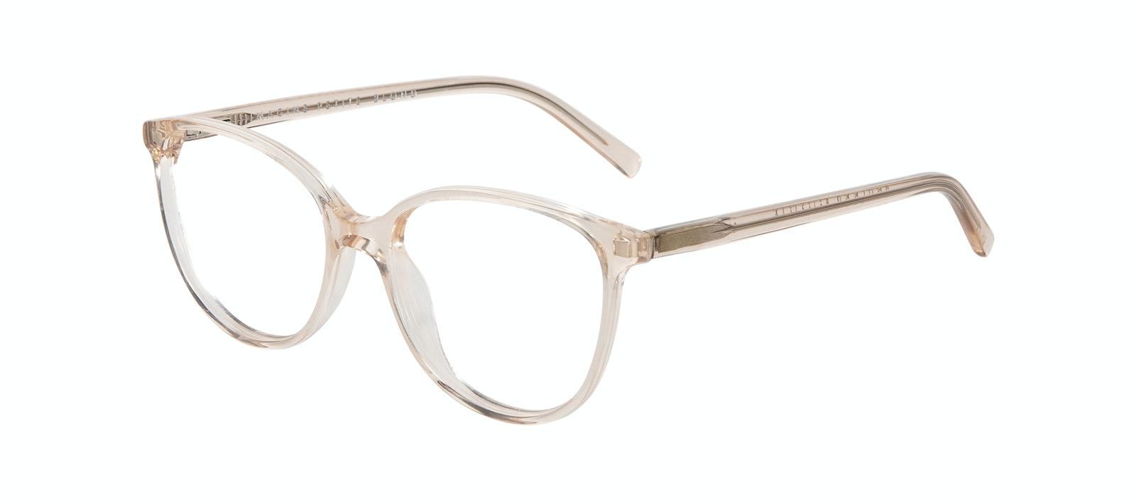 Affordable Fashion Glasses Cat Eye Eyeglasses Women Imagine XS Blond Tilt