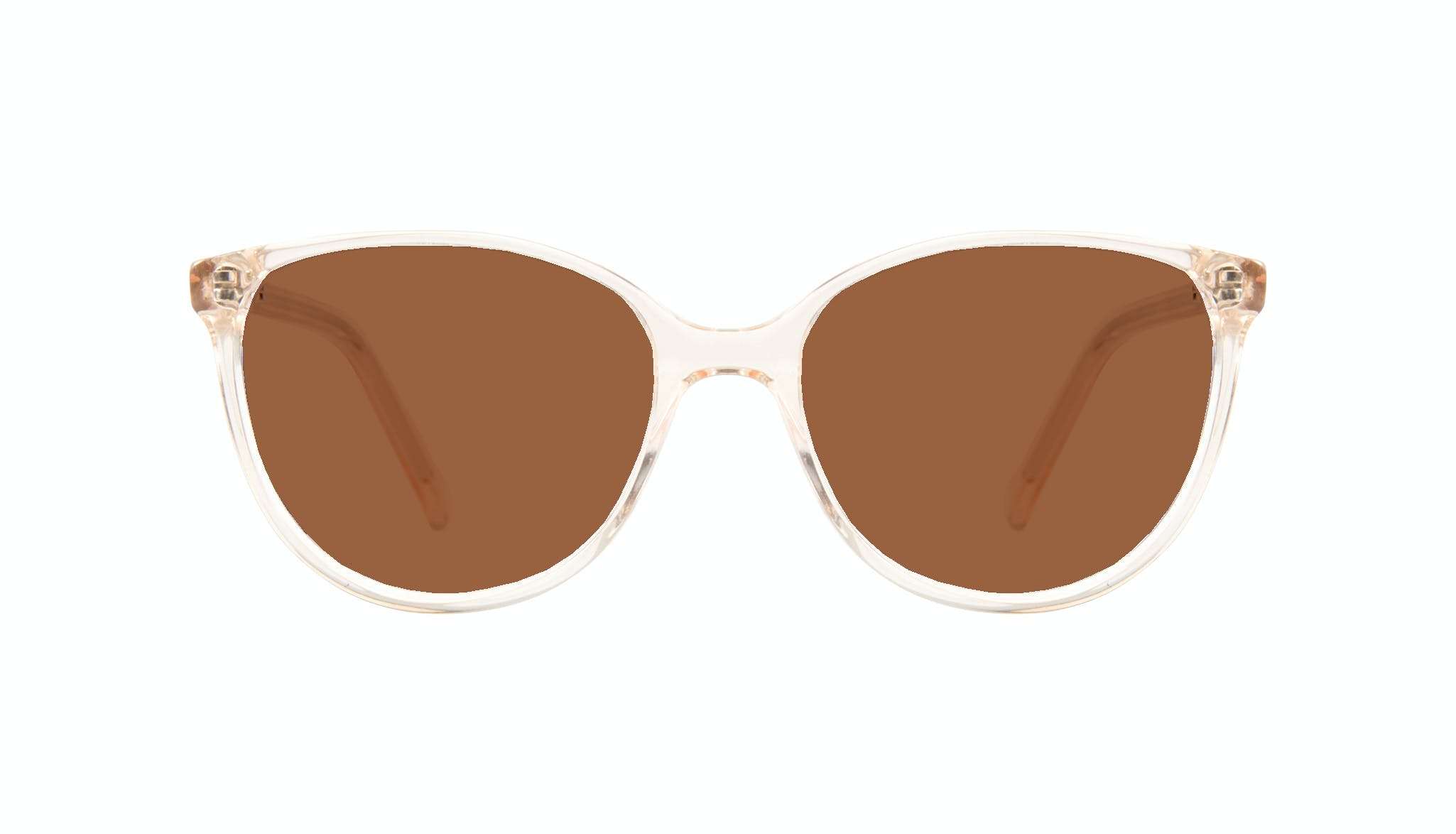 Affordable Fashion Glasses Round Sunglasses Women Imagine Petite Blond Front