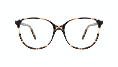 Affordable Fashion Glasses Round Eyeglasses Women Imagine Petite Leopard Front