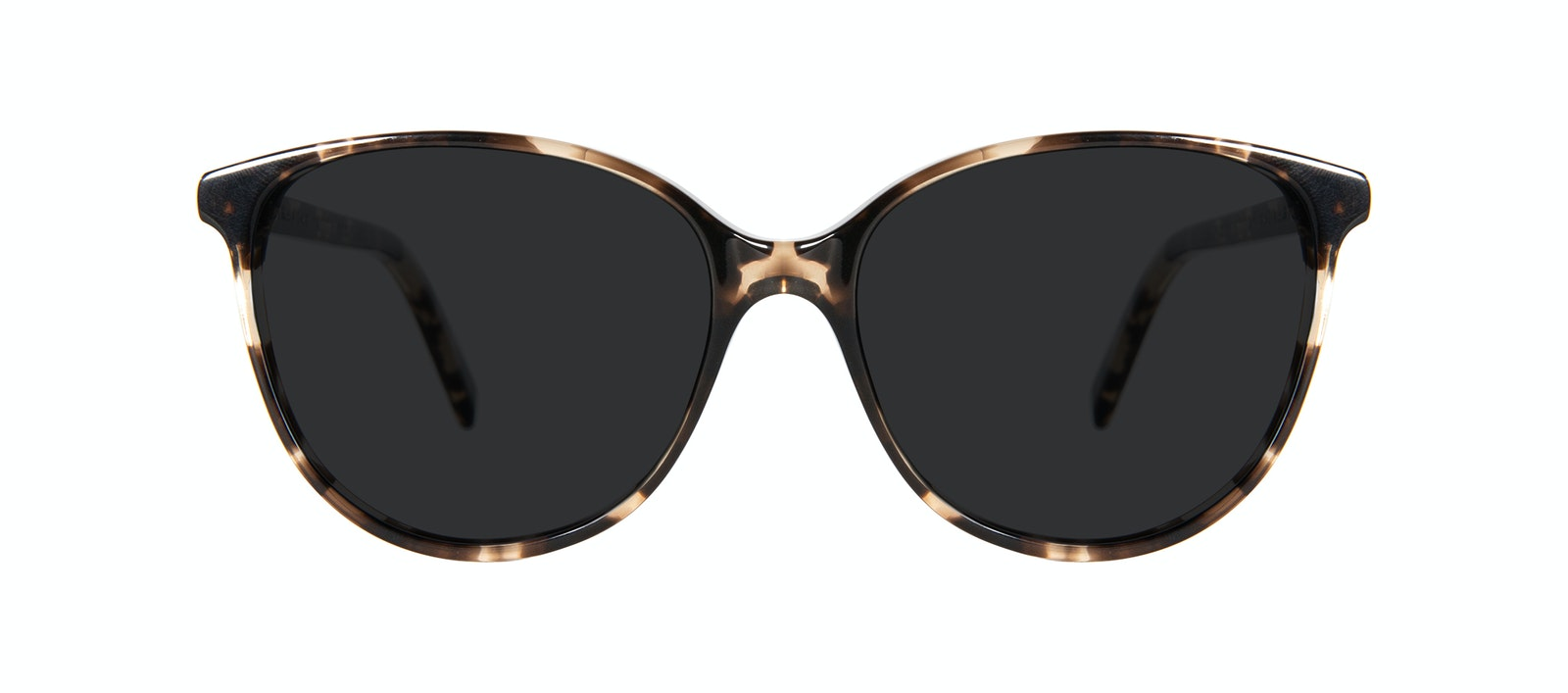 Affordable Fashion Glasses Round Sunglasses Women Imagine Petite Leopard Front