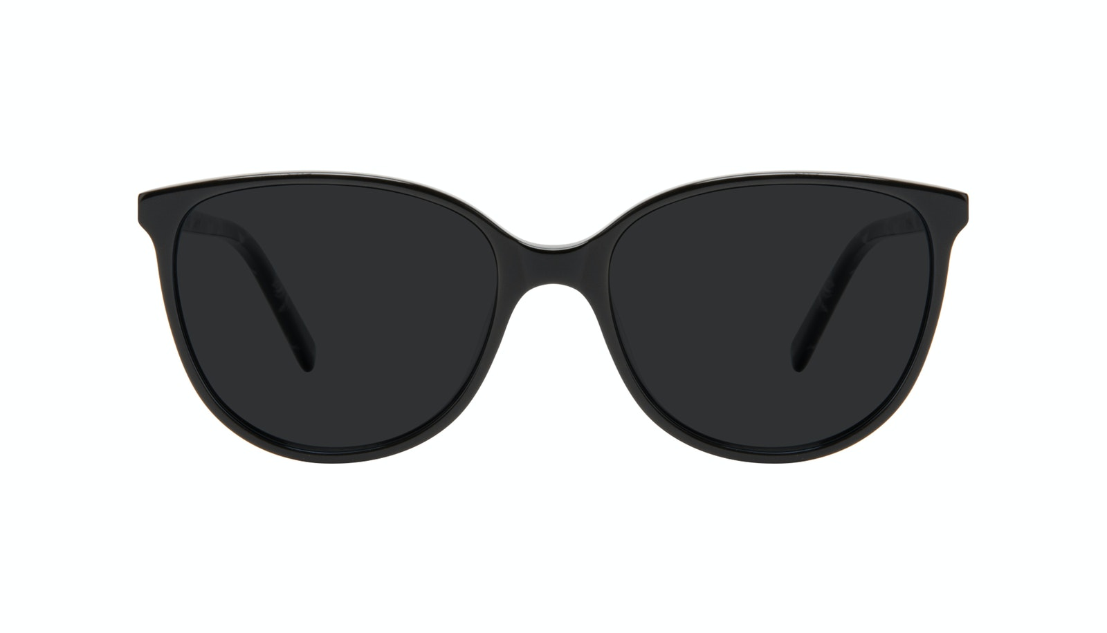 Affordable Fashion Glasses Round Sunglasses Women Imagine Petite Onyx