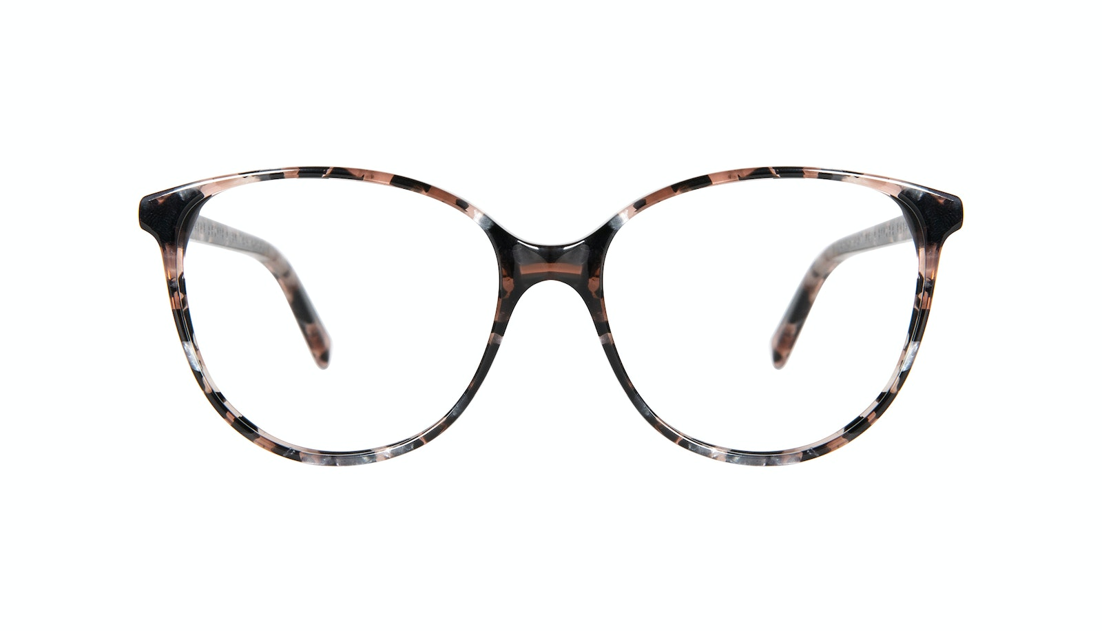 Affordable Fashion Glasses Round Eyeglasses Women Imagine Petite Pink Tortoise