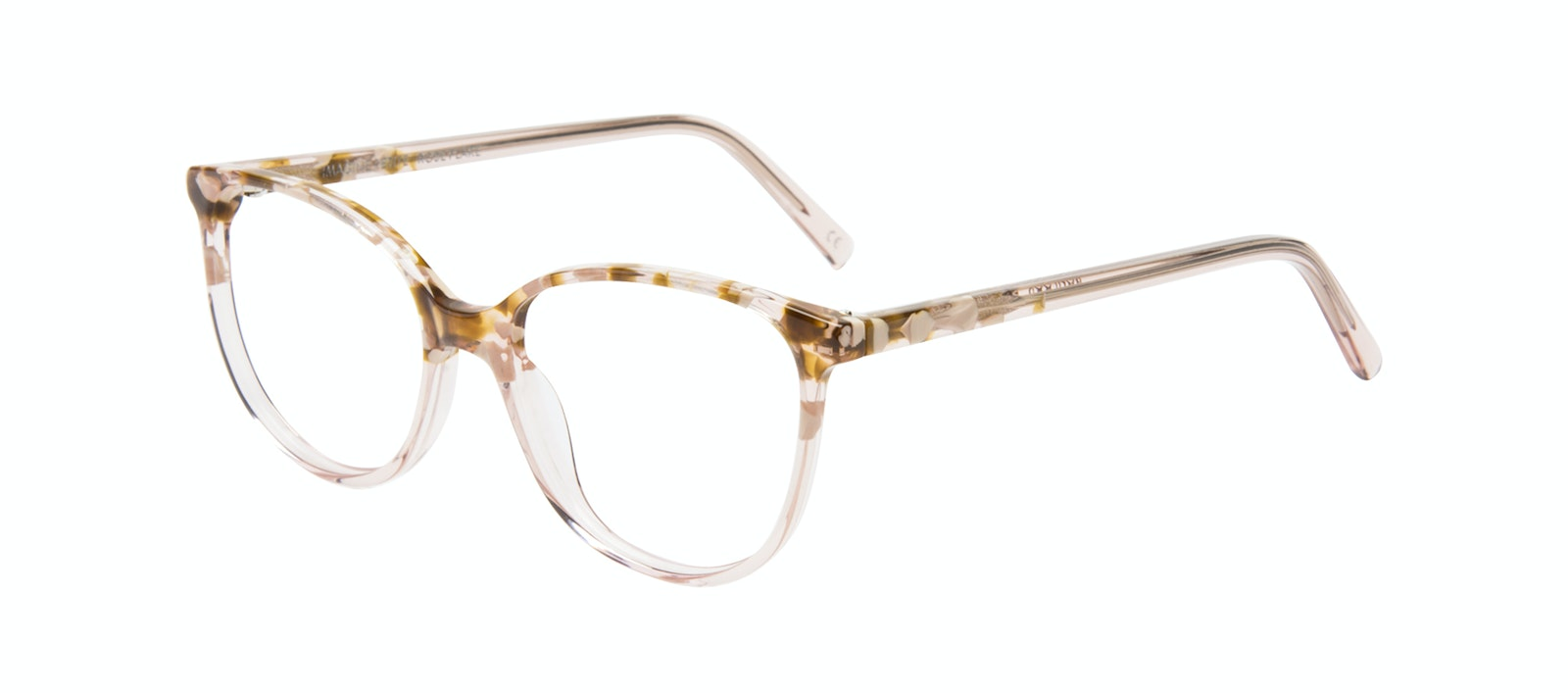 1e1f36e8ae62 Affordable Fashion Glasses Round Eyeglasses Women Imagine Petite Rose Flake  Tilt