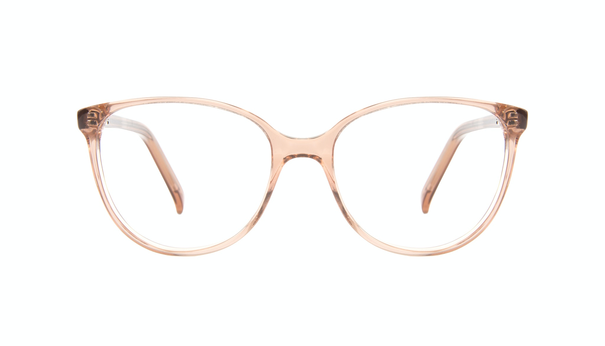 Affordable Fashion Glasses Round Eyeglasses Women Imagine Petite Rose Front