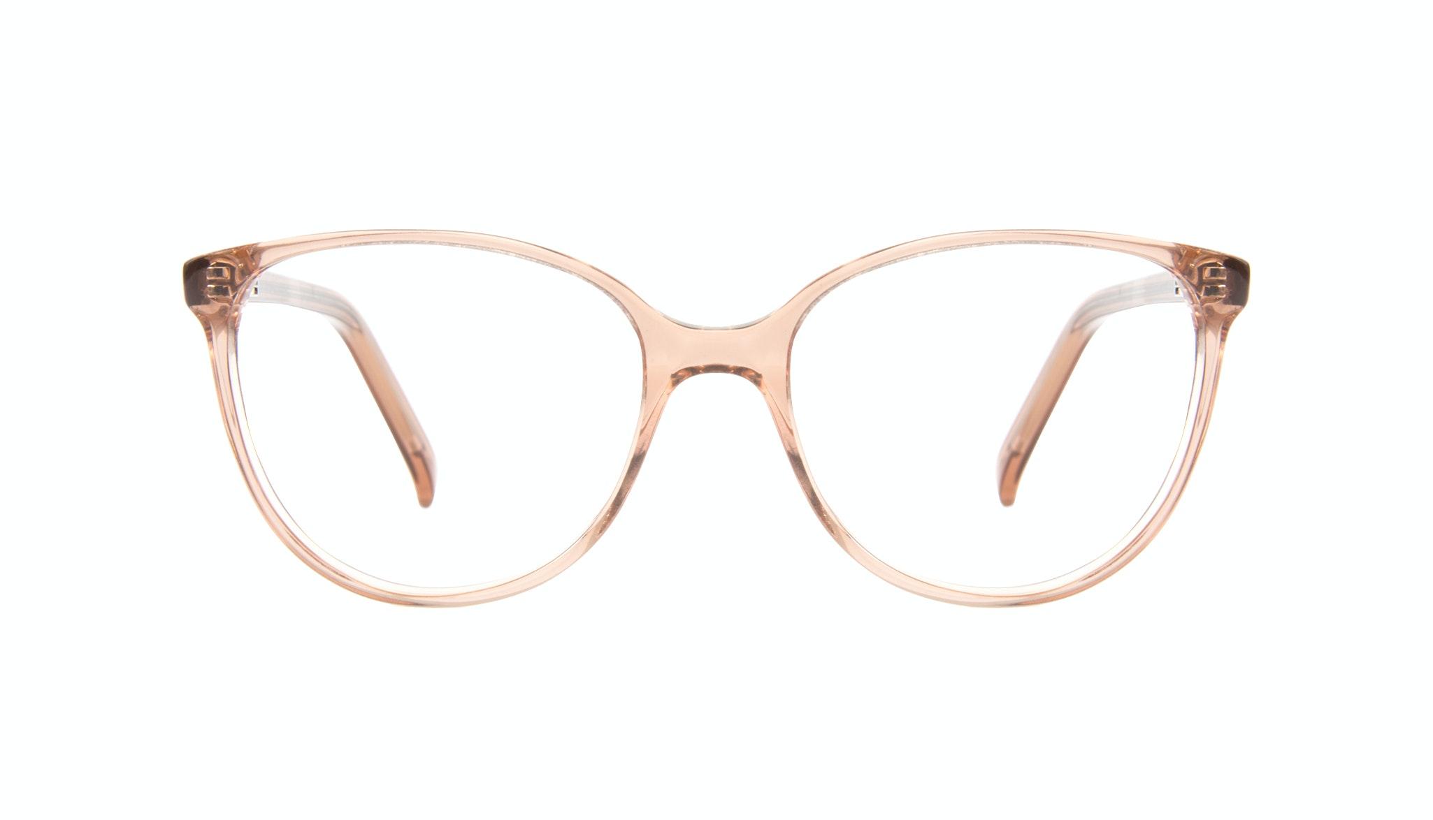 Affordable Fashion Glasses Cat Eye Eyeglasses Women Imagine Petite Rose Front