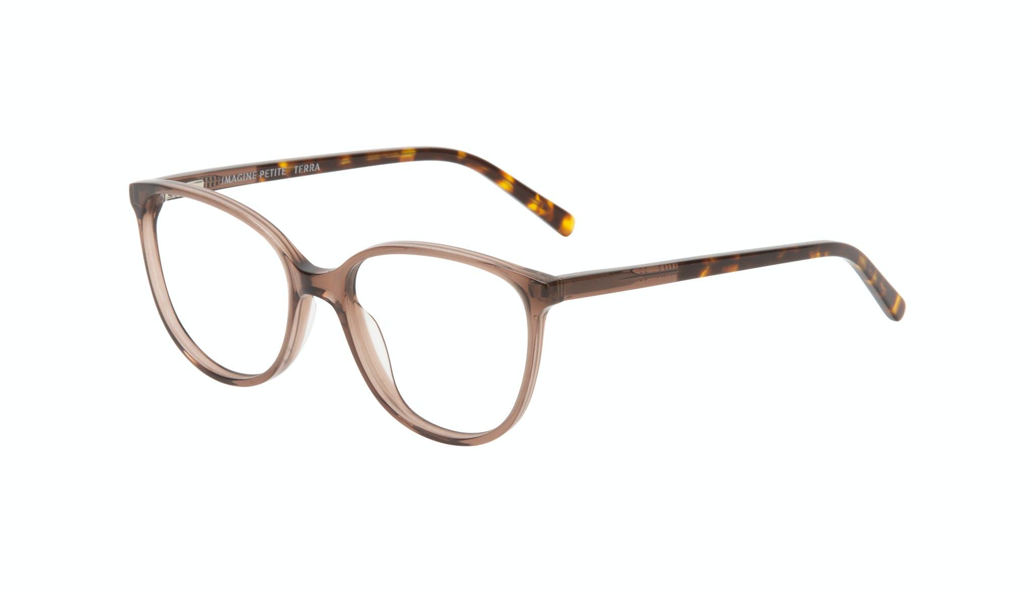 Affordable Fashion Glasses Round Eyeglasses Women Imagine Petite Terra Tilt