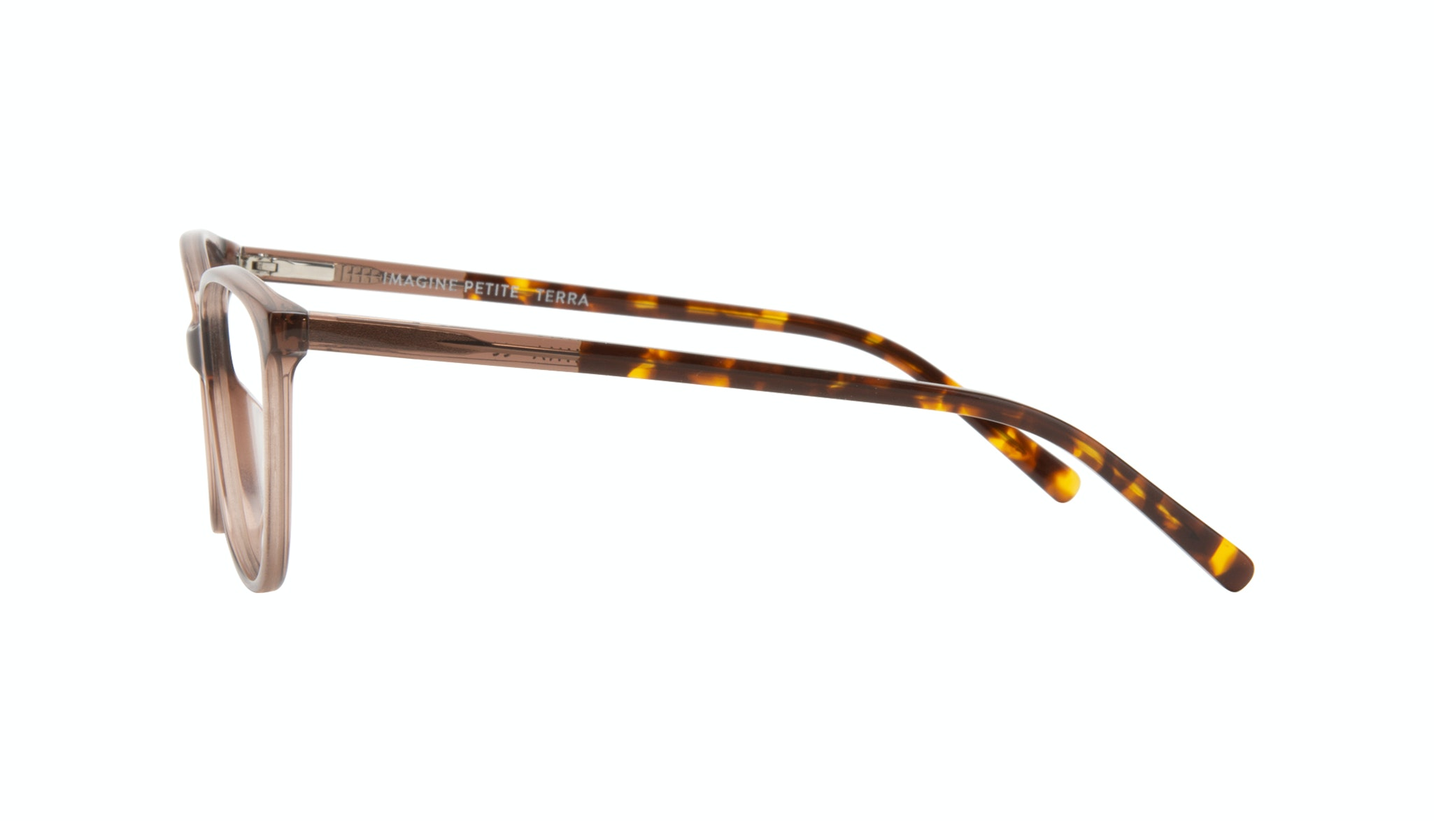 Affordable Fashion Glasses Round Eyeglasses Women Imagine Petite Terra Side