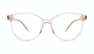 Affordable Fashion Glasses Cat Eye Eyeglasses Women Imagine XL Blond Front