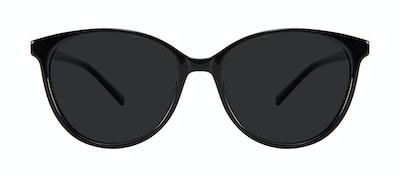 Lunettes tendance Oeil de chat Lunettes de soleil Femmes Imagine Plus Onyx Face