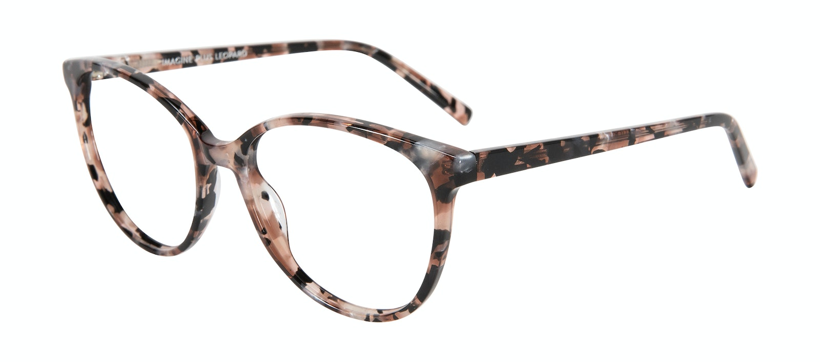 Affordable Fashion Glasses Cat Eye Eyeglasses Women Imagine XL Pink Tortoise Tilt