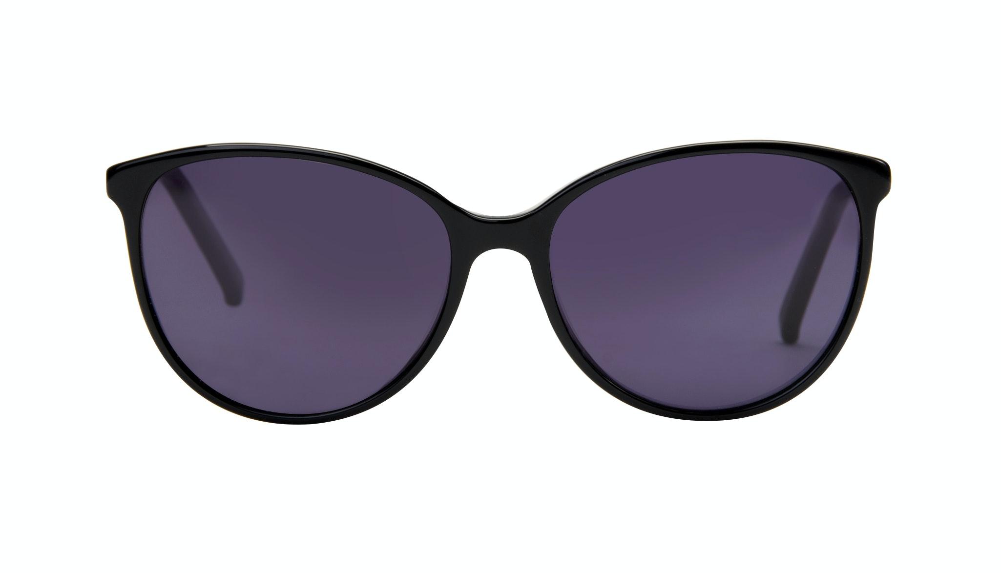 Lunettes tendance Oeil de chat Ronde Lunettes solaires Femmes Imagine Onyx Face