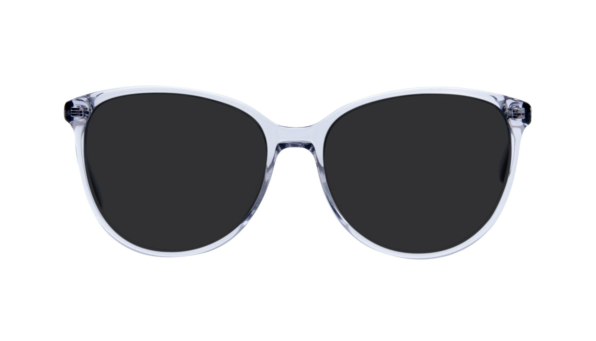 Lunettes tendance Oeil de chat Ronde Lunettes de soleil Femmes Imagine Grey Metal Face