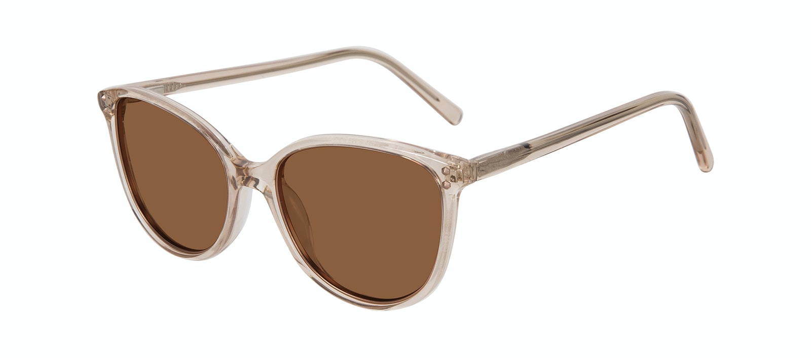 Affordable Fashion Glasses Cat Eye Sunglasses Women Imagine Petite Shine Blond Tilt