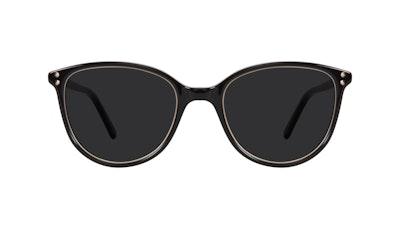 Affordable Fashion Glasses Cat Eye Sunglasses Women Imagine Petite Shine Onyx Front