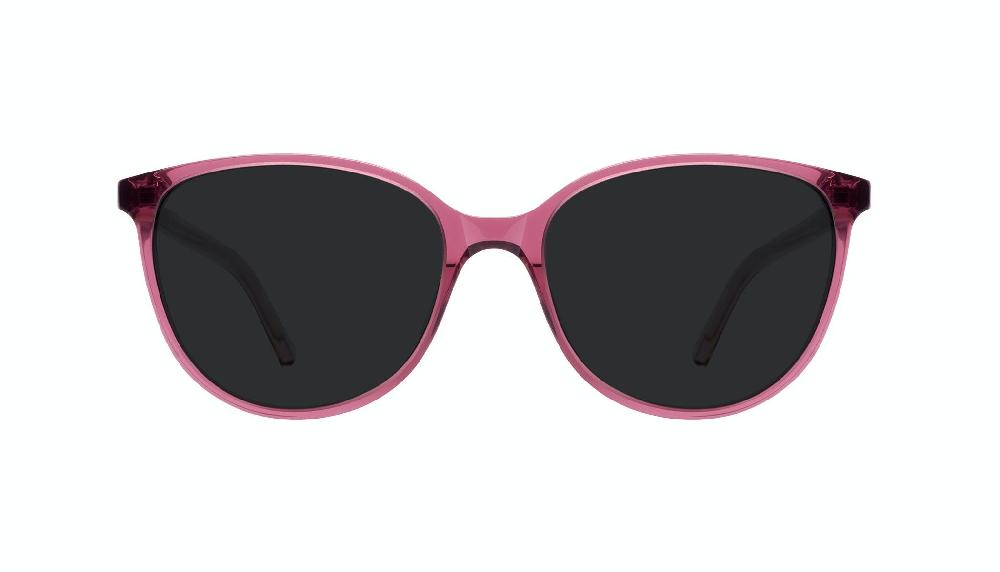 Affordable Fashion Glasses Round Sunglasses Women Imagine Petite Berry