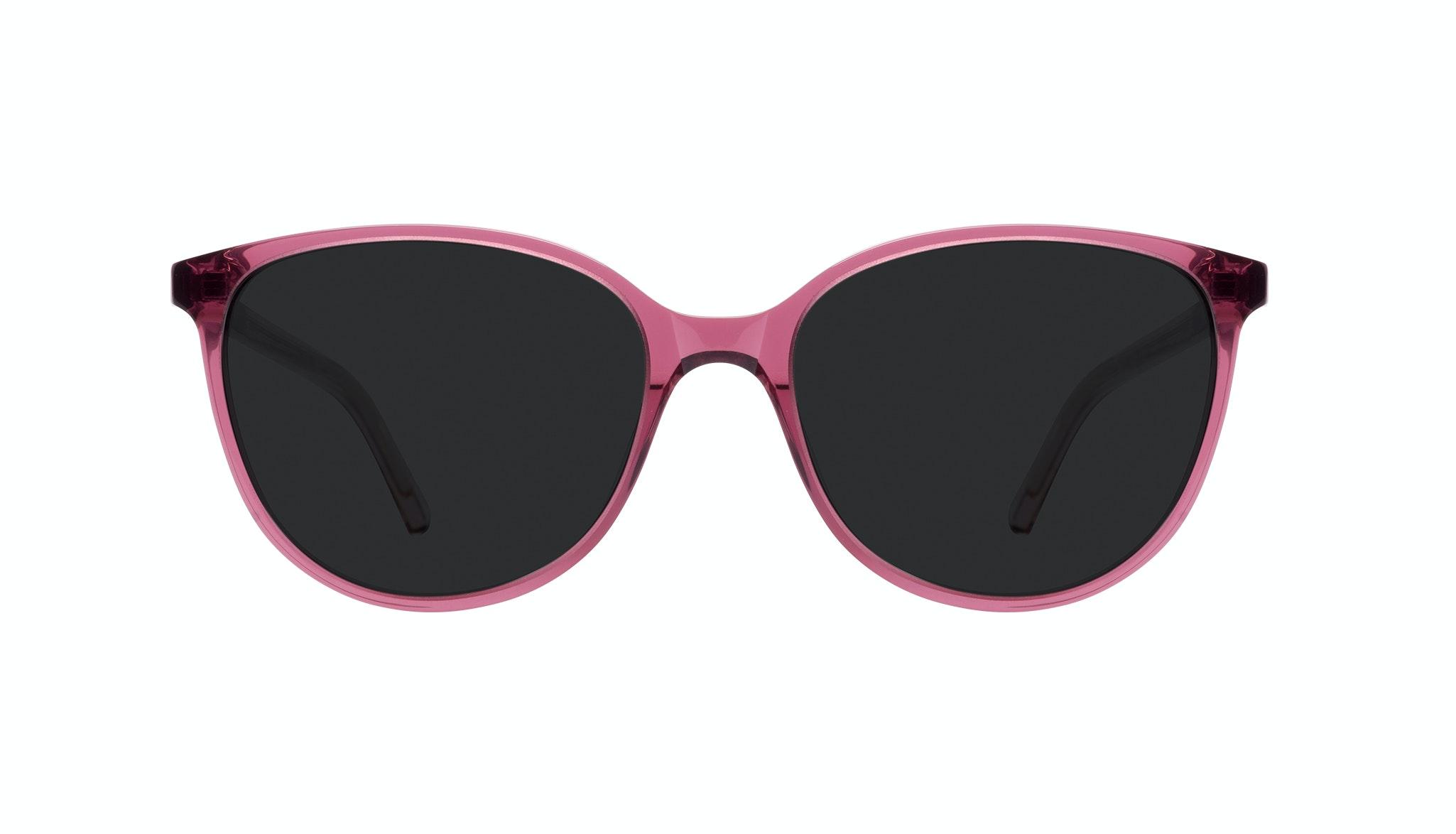 Affordable Fashion Glasses Round Sunglasses Women Imagine Petite Berry Front