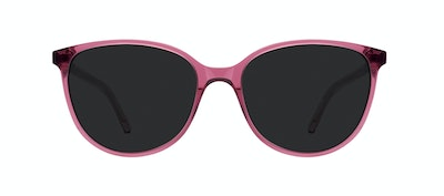 Affordable Fashion Glasses Round Sunglasses Women Imagine Petite Berry Front