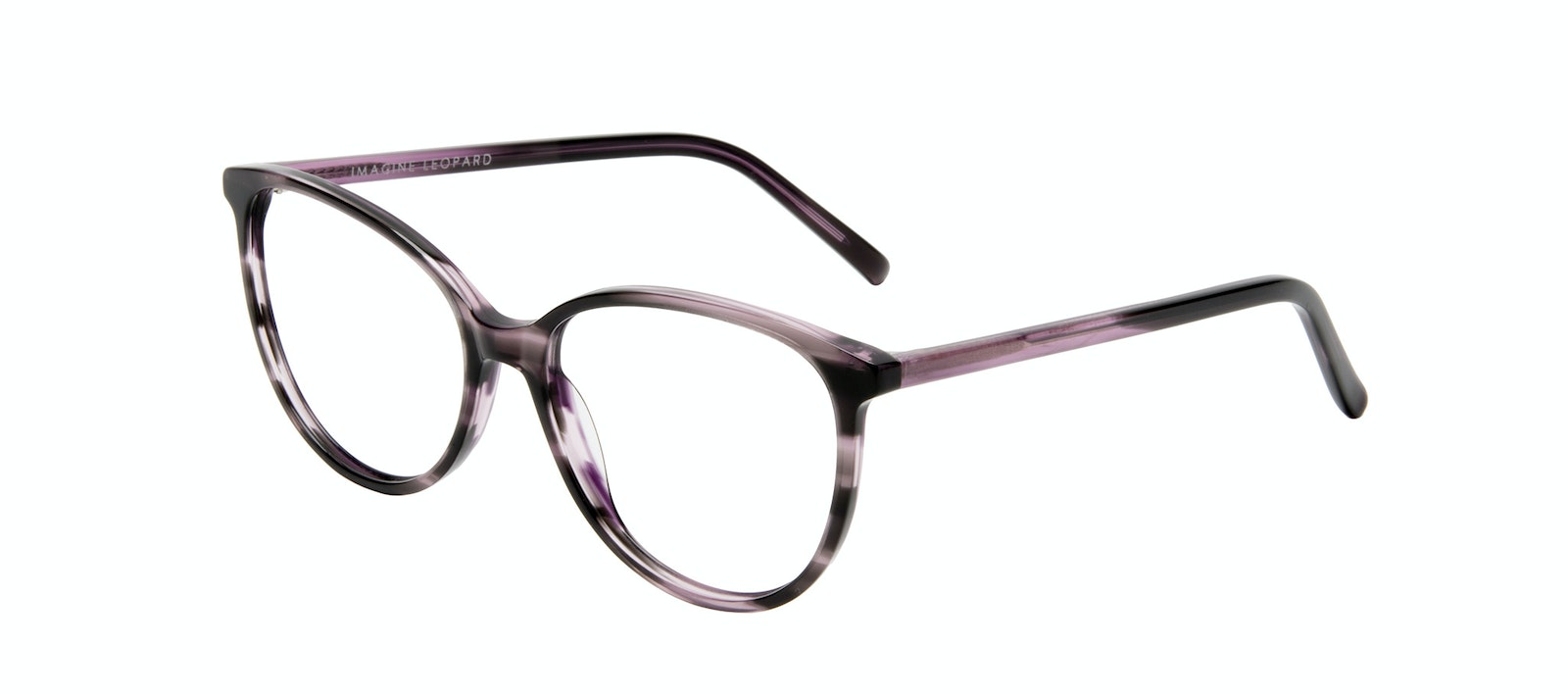 Affordable Fashion Glasses Round Eyeglasses Women Imagine Leopard Tilt
