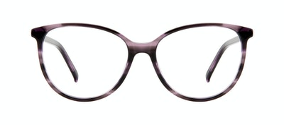 Affordable Fashion Glasses Cat Eye Eyeglasses Women Imagine Leopard Purple Front