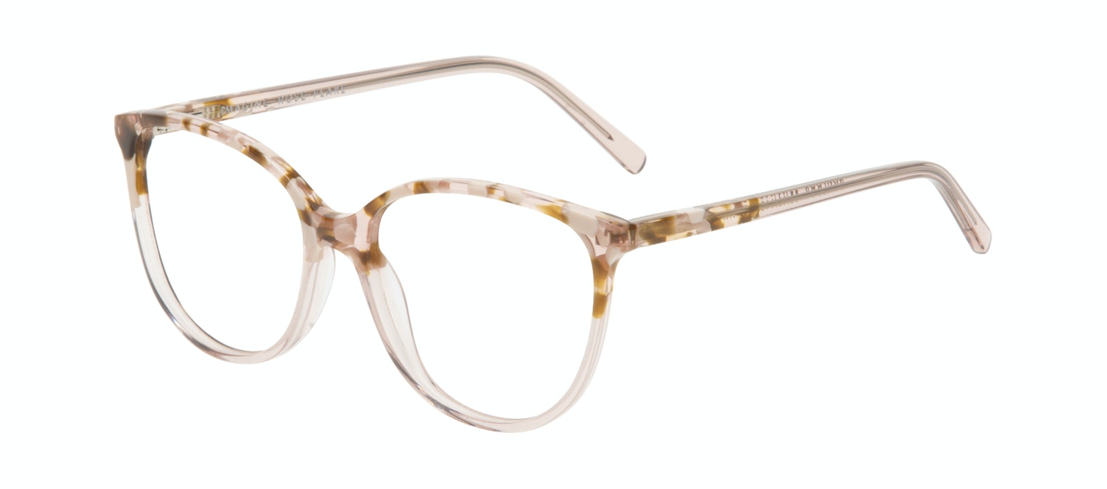 59c36180c09a Affordable Fashion Glasses Round Eyeglasses Women Imagine Rose Flake Tilt
