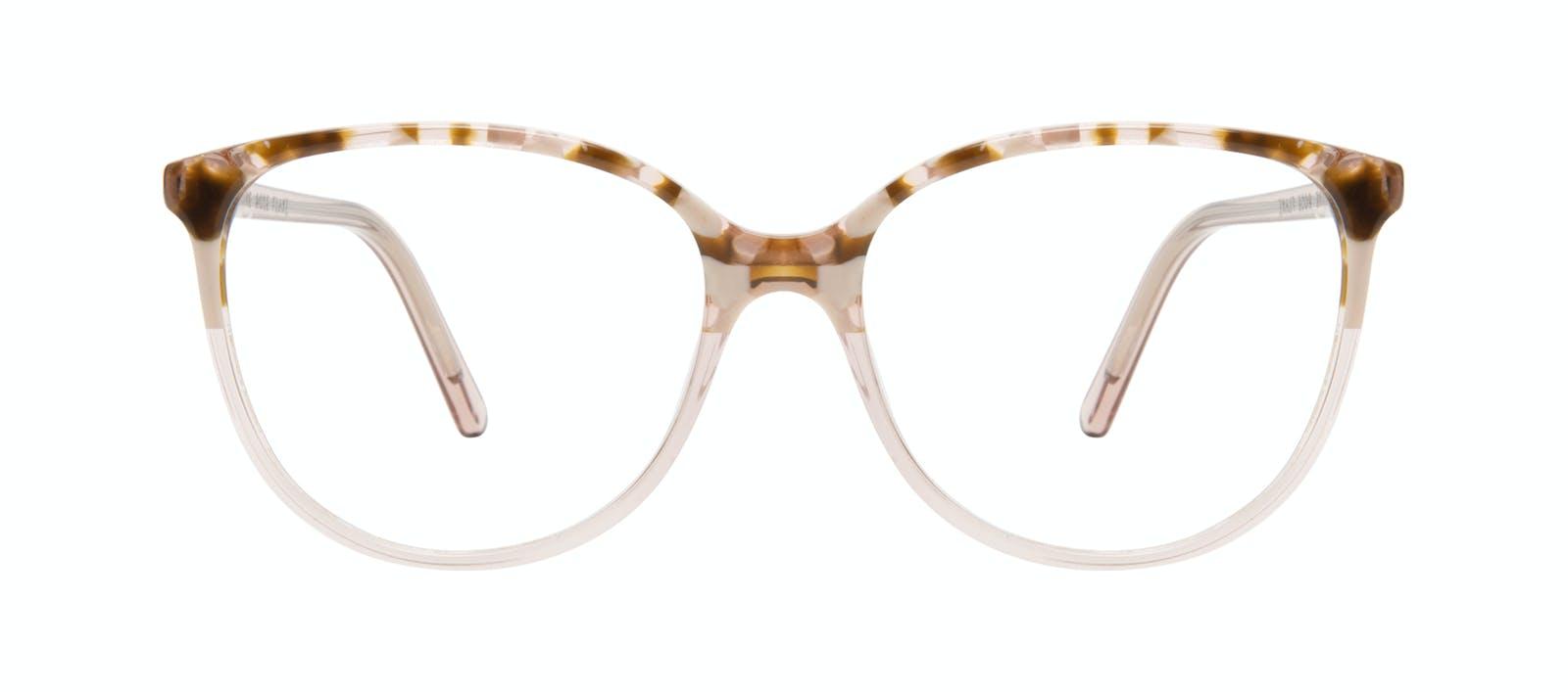 8709f9e951 Affordable Fashion Glasses Round Eyeglasses Women Imagine Rose Flake Front