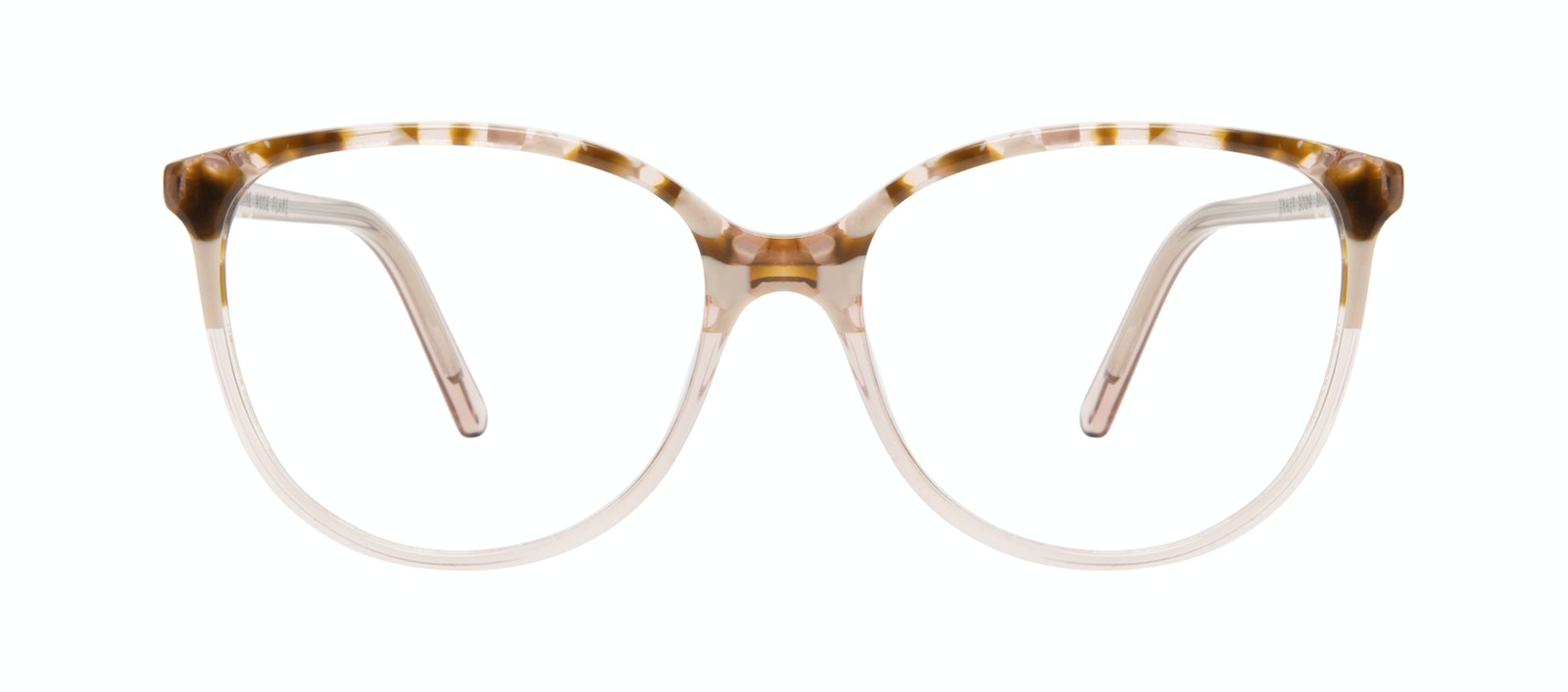 196a128b5e8a Affordable Fashion Glasses Round Eyeglasses Women Imagine Rose Flake Front