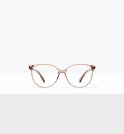Affordable Fashion Glasses Cat Eye Eyeglasses Women Imagine XL Rose Front