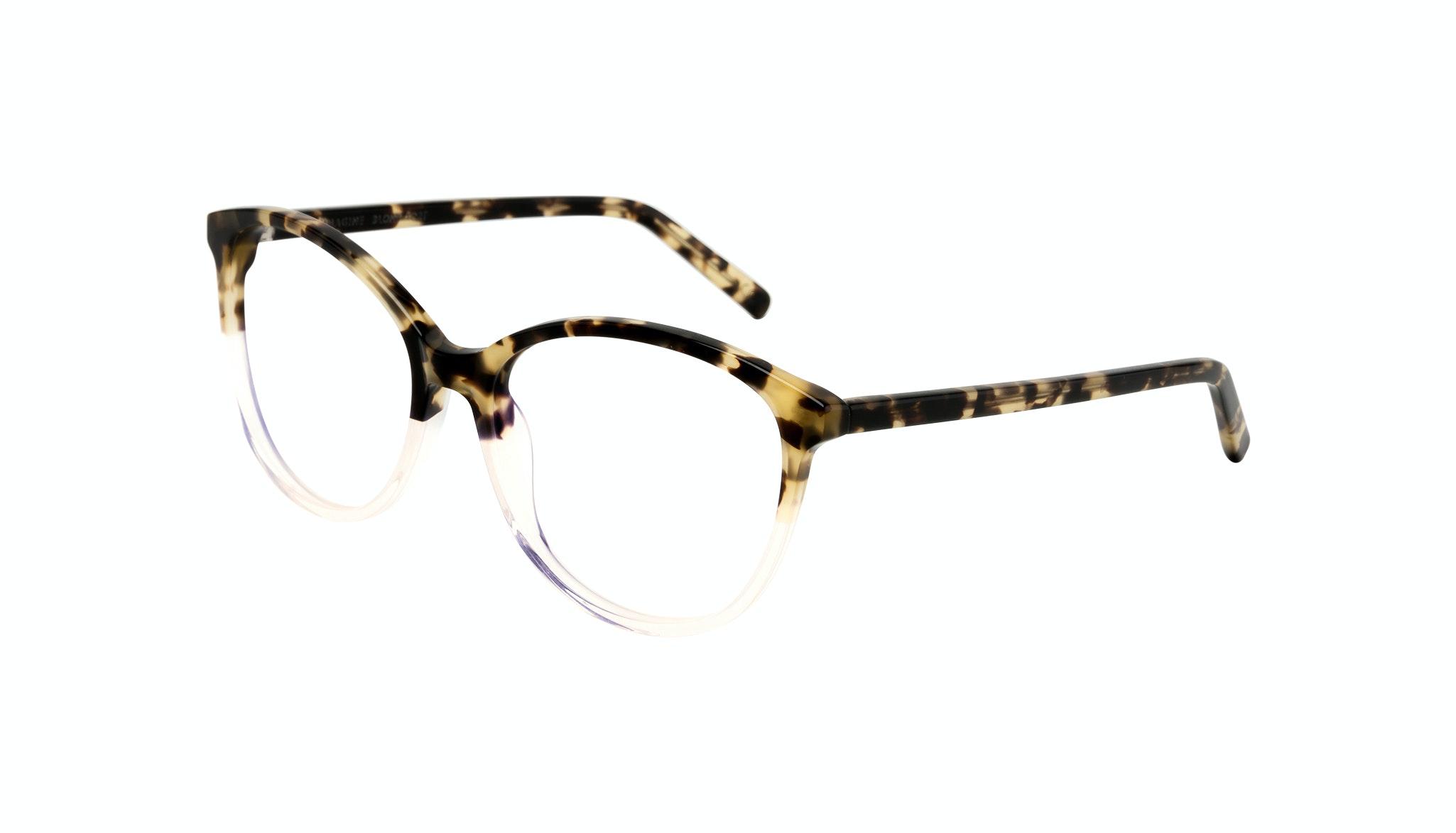 Affordable Fashion Glasses Cat Eye Round Eyeglasses Women Imagine Blond Tort Tilt