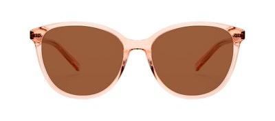 Affordable Fashion Glasses Cat Eye Sunglasses Women Imagine Peach Front