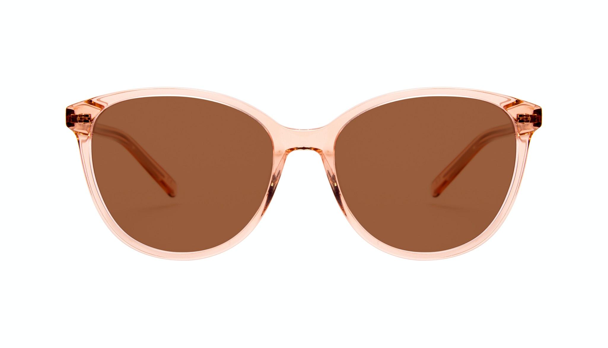 Lunettes tendance Oeil de chat Ronde Lunettes solaires Femmes Imagine Peach