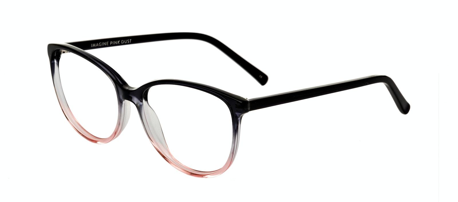 c2efe60e54c Affordable Fashion Glasses Round Eyeglasses Women Imagine Pink Dust Tilt