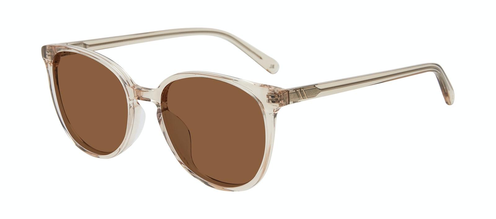 Affordable Fashion Glasses Round Sunglasses Women Impression Blond Tilt