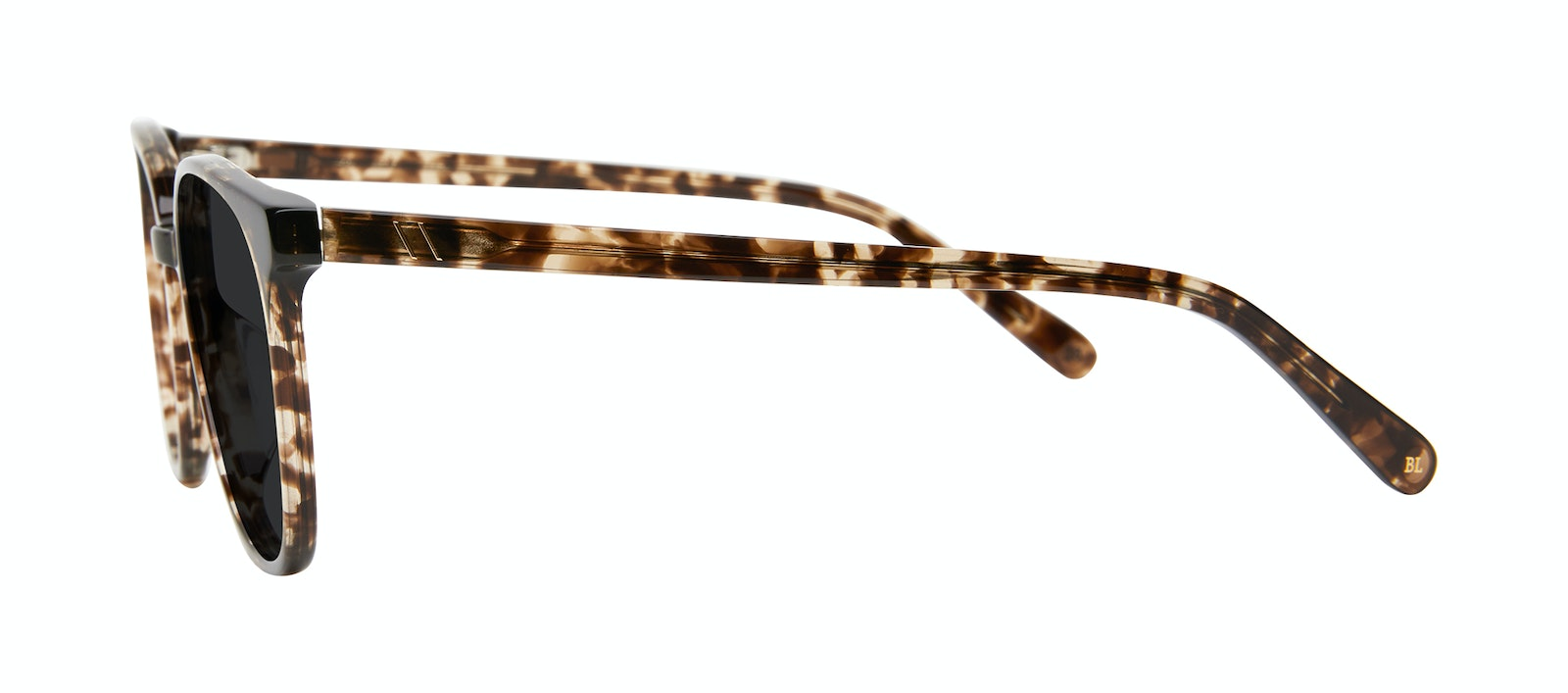 Affordable Fashion Glasses Round Sunglasses Women Impression Leopard Side