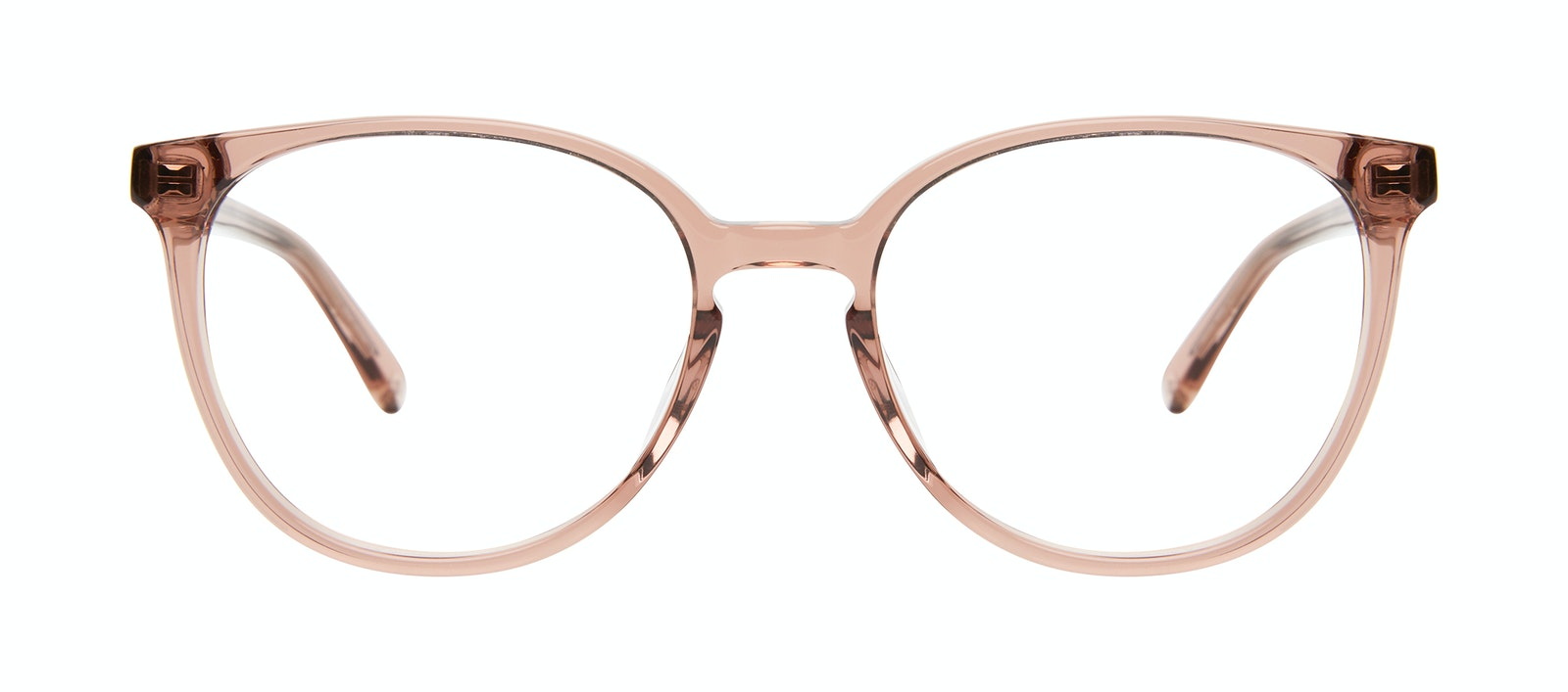 Affordable Fashion Glasses Round Eyeglasses Women Impression Rose Front