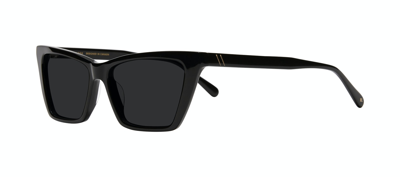 Affordable Fashion Glasses Cat Eye Sunglasses Women Indio Black Tilt