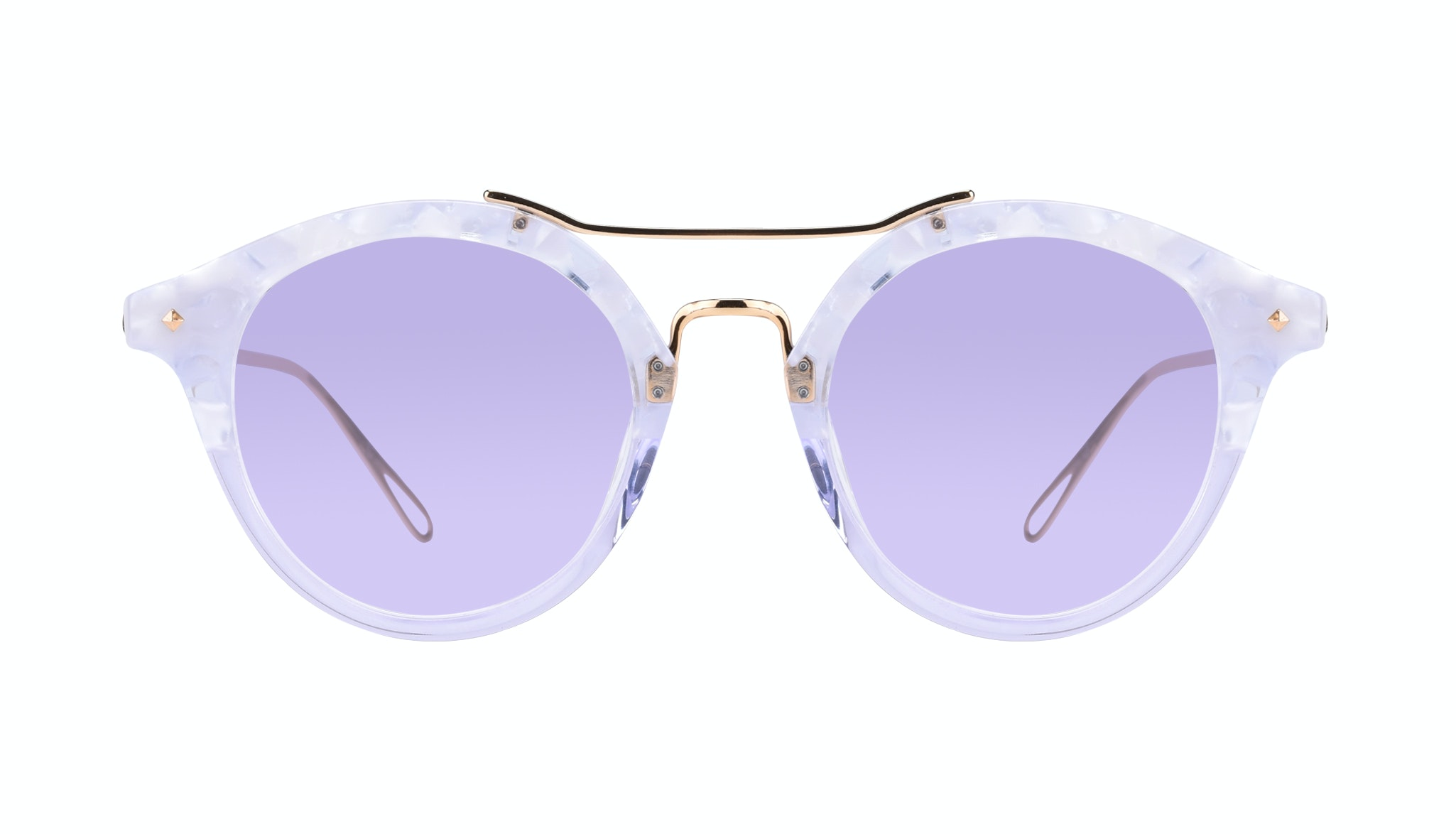 Affordable Fashion Glasses Round Sunglasses Women Infinite Moonlight Front