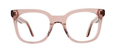 Affordable Fashion Glasses Rectangle Square Eyeglasses Women Jack & Norma Rose Front