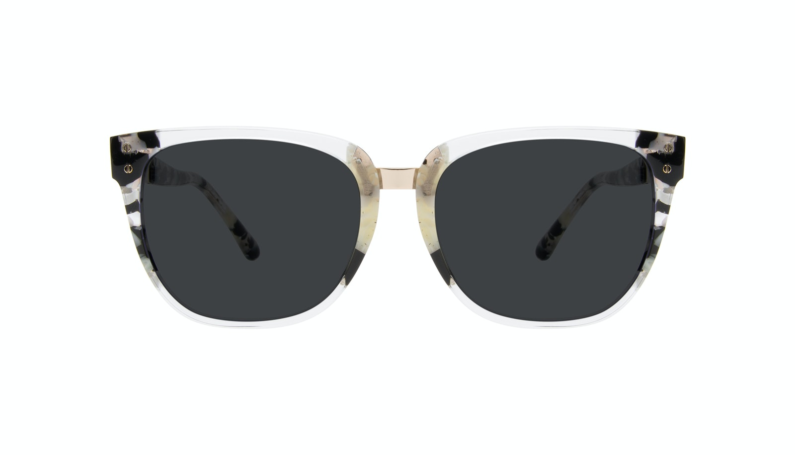 Affordable Fashion Glasses Square Sunglasses Women James Goldtone
