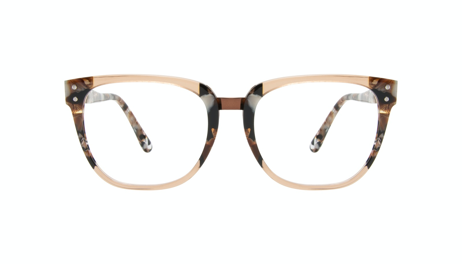 Affordable Fashion Glasses Square Eyeglasses Women James Toffee Marble