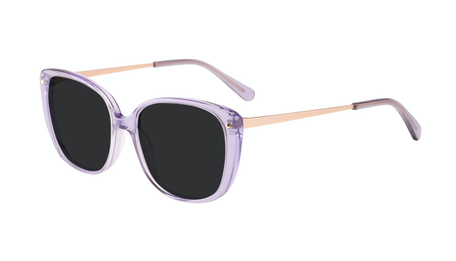 Affordable Fashion Glasses Square Sunglasses Women Japonisme Lavender Tilt