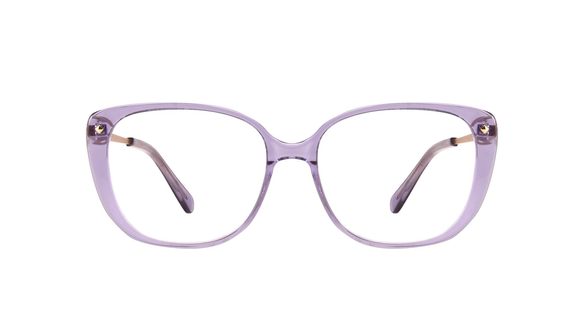 Affordable Fashion Glasses Square Eyeglasses Women Japonisme Lavender Front