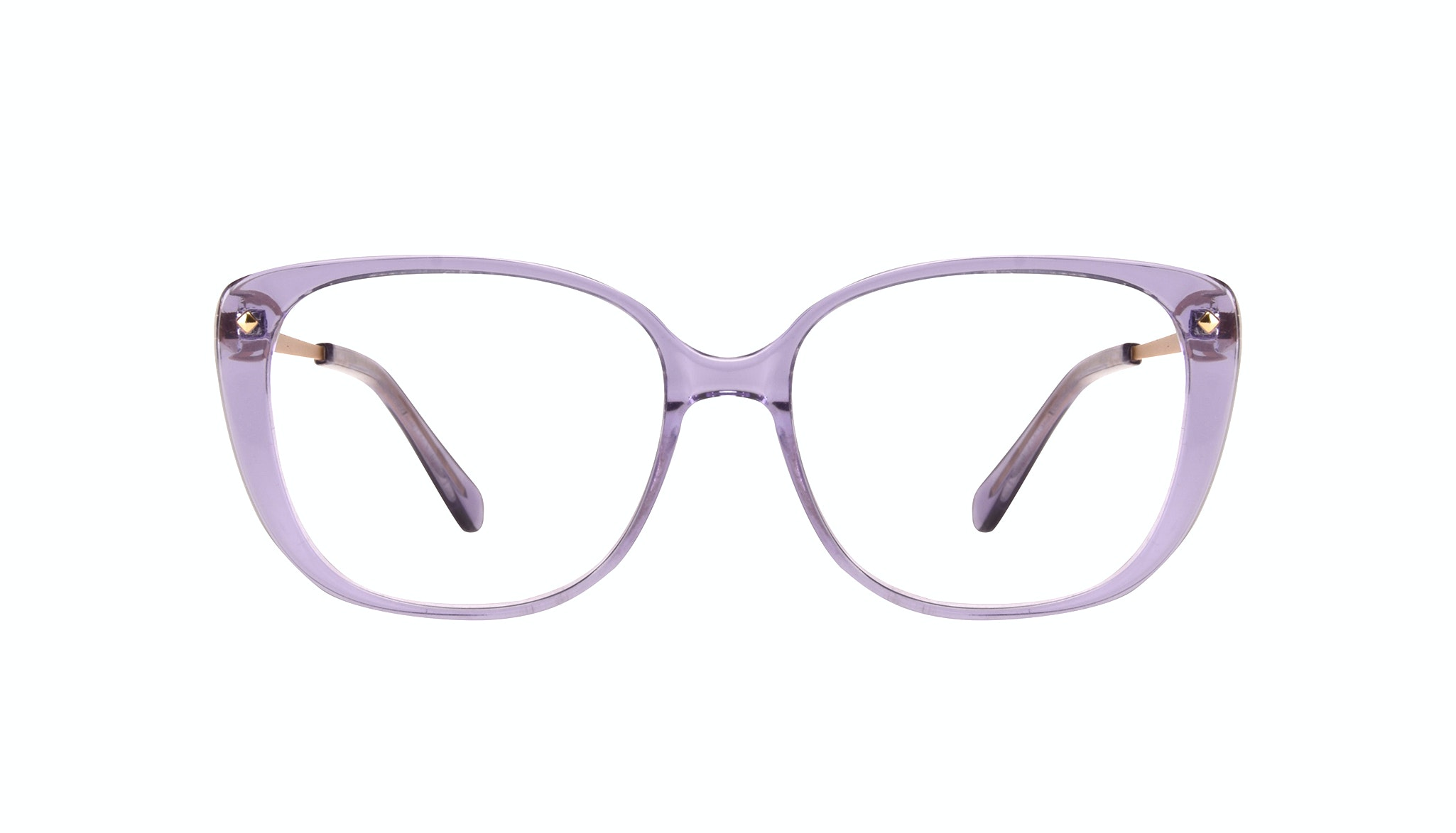Affordable Fashion Glasses Square Eyeglasses Women Japonisme Lavender Front